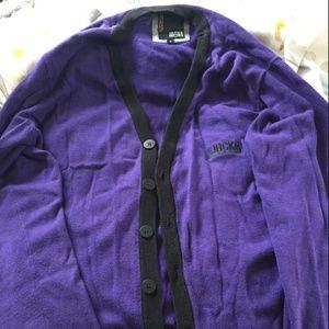 Jack & Jones Purple Cardigan (Size Small)